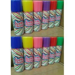 Bombolette Spray Stelle Filanti 12 pezzi 6 colori