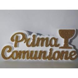 PRIMA COMUNIONE SCULTURA IN POLISTIROLO CON COLOMBA JHS