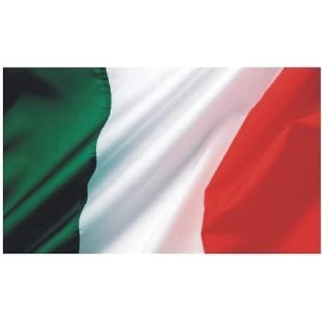 BANDIERA BANDIERE ITALIA TRICOLORE Mis. 250 x 150 cm. Party Festa Manifestazione STOCK