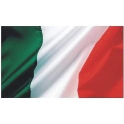 50 BANDIERA BANDIERE ITALIA TRICOLORE Mis. 70 x 50 cm. Party Festa Manifestazione STOCK